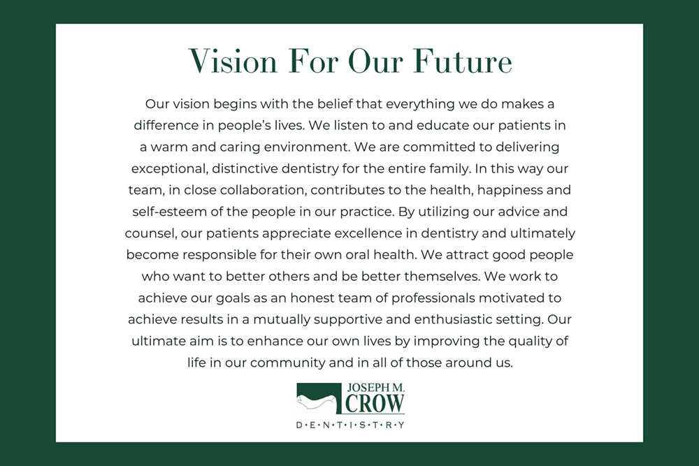 Vision For Our Future